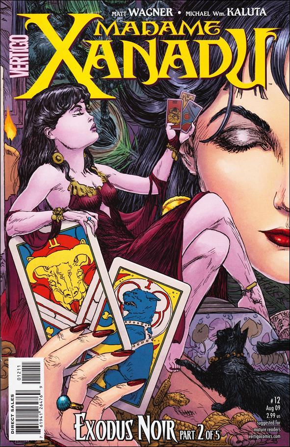 Madame Xanadu (2008) 12-A by Vertigo