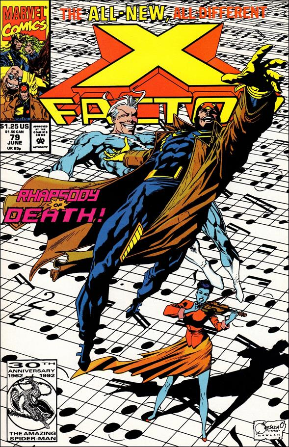X-Factor (1986) 79-A by Marvel