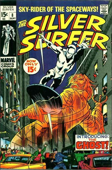 Silver Surfer (1968) 8-A by Marvel