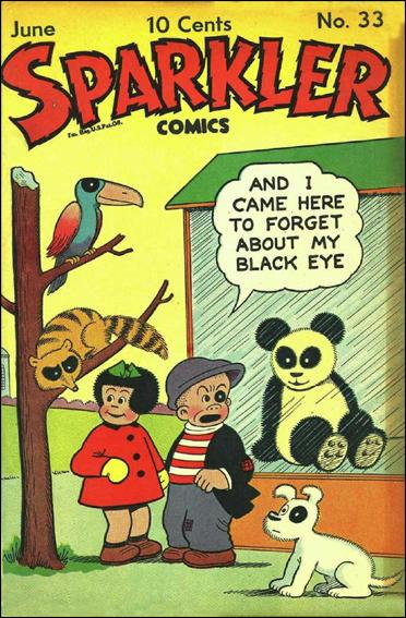 Sparkler Comics (1941) 33-A by United Features Syndicate