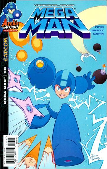 Mega Man 53-A by Archie