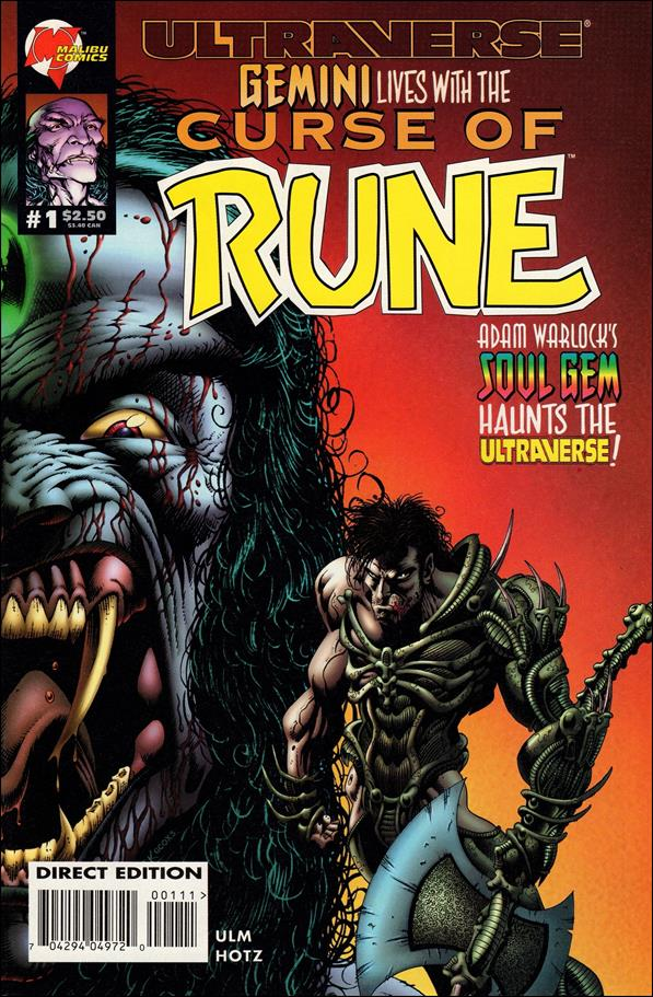 Curse of Rune 1-B by Malibu