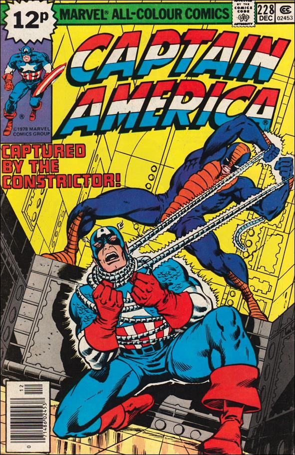 Captain America (1968) 228-B by Marvel