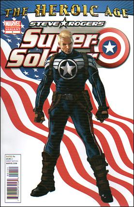 Steve Rogers: Super-Soldier 1-E by Marvel