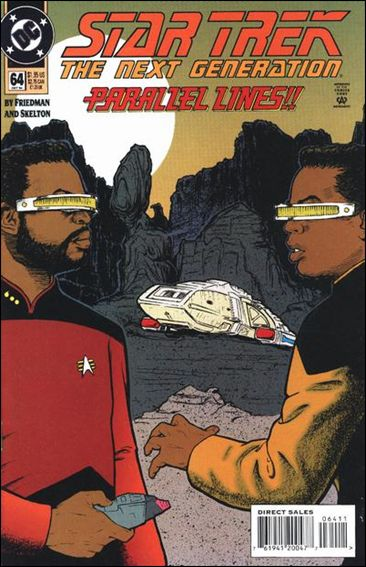 Star Trek: The Next Generation (1989) 64-A by DC