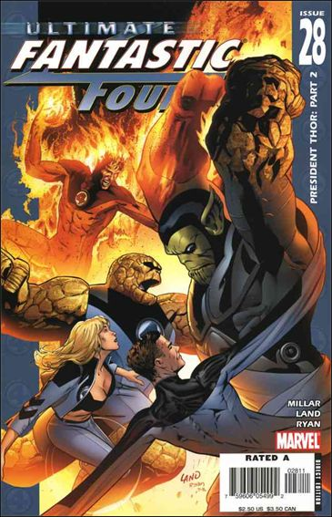 Ultimate Fantastic Four 28-A by Marvel