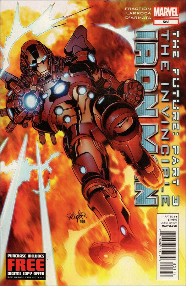 Invincible Iron Man (2008) 523-A by Marvel