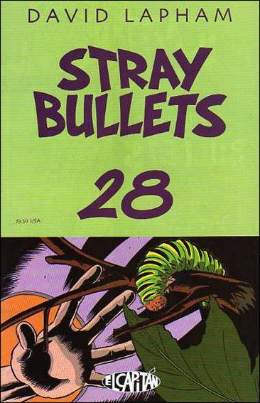 Stray Bullets 28-A by El Capitan
