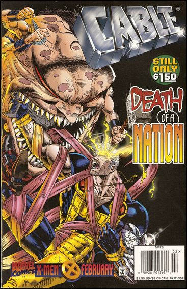 Cable (1993) 28-B by Marvel