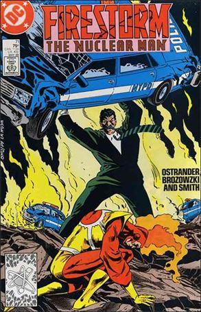 Firestorm The Nuclear Man (1987) 71-A