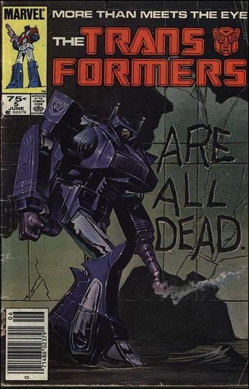 Transformers (1984) 5-A by Marvel
