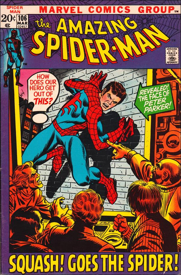 Amazing Spider-Man (1963) 106-A by Marvel
