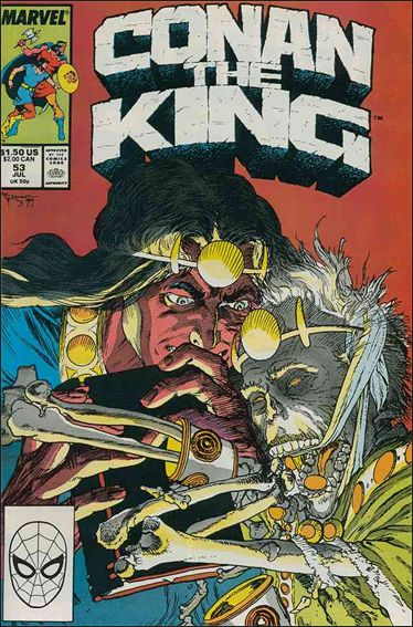 Conan the King 53-A by Marvel