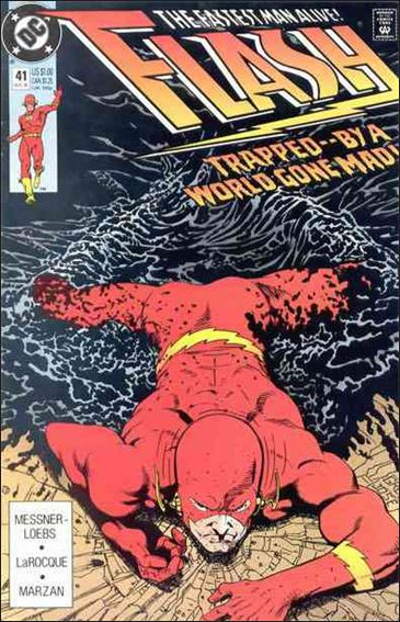 Flash (1987) 41-A by DC