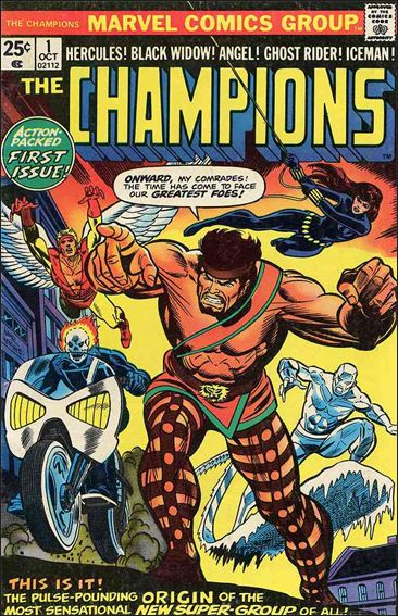 Champions (1975) 1-A by Marvel