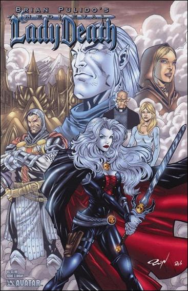 Brian Pulido's Medieval Lady Death 3-C by Avatar Press