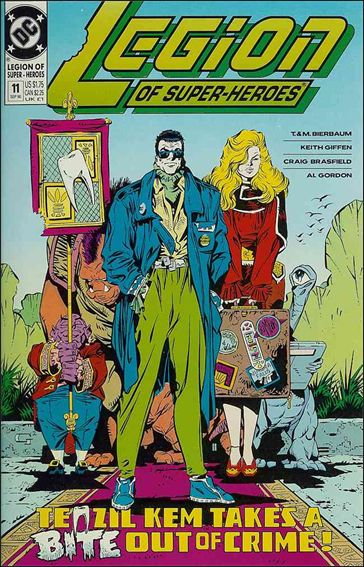 Legion of Super-Heroes (1989) 11-A by DC