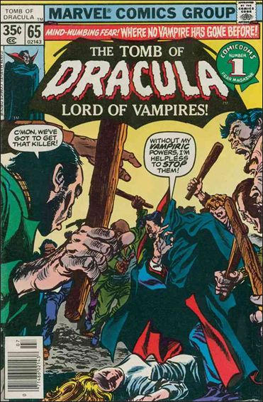 Tomb of Dracula (1972) 65-A by Marvel