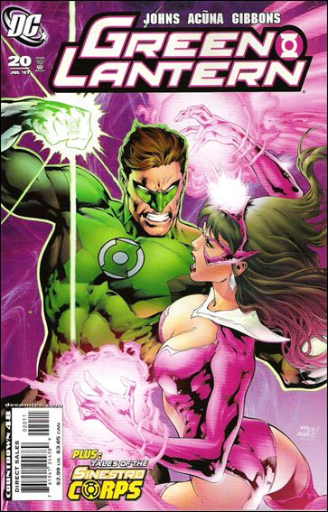 Green Lantern (2005) 20-A by DC