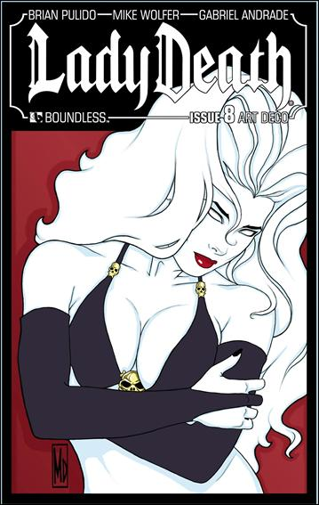 Lady Death (2010) 8-C by Boundless Comics