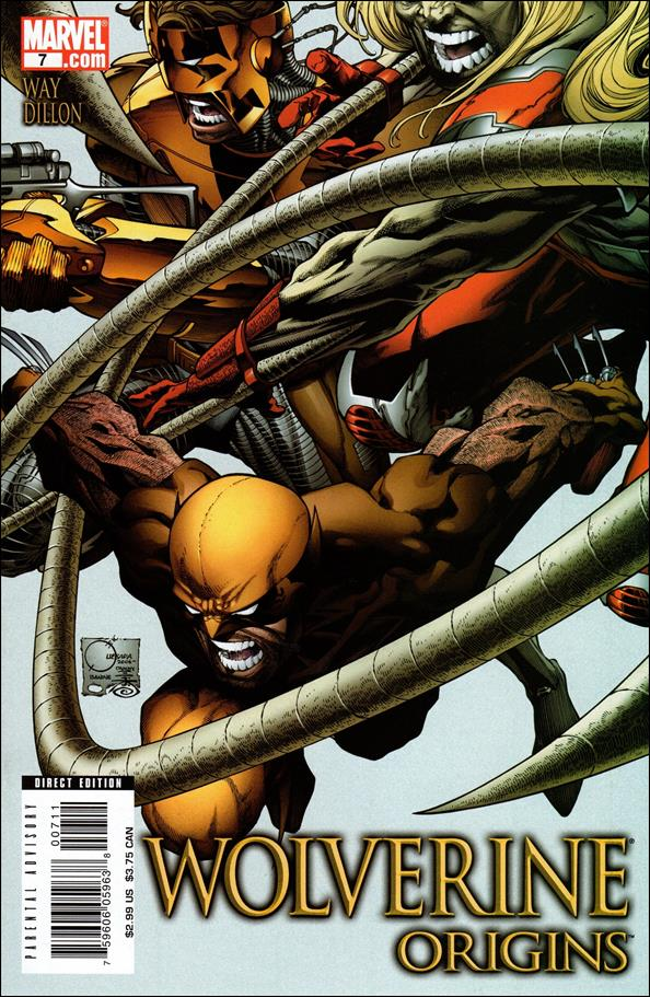 Wolverine: Origins 7-A by Marvel