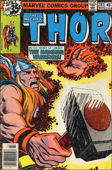 Thor (1966) 281-A by Marvel
