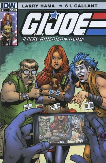 G.I. Joe: A Real American Hero 180-B by IDW