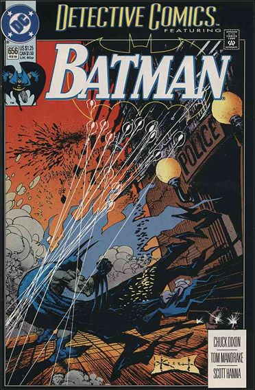 Detective Comics (1937) 656-A by DC