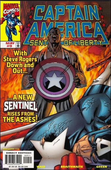 Captain America: Sentinel of Liberty 9-A by Marvel