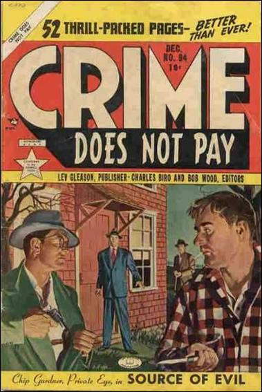 Crime Does not Pay 94-A by Lev Gleason Productions