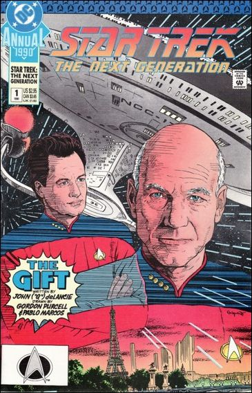 Star Trek: The Next Generation Annual 1-A by DC