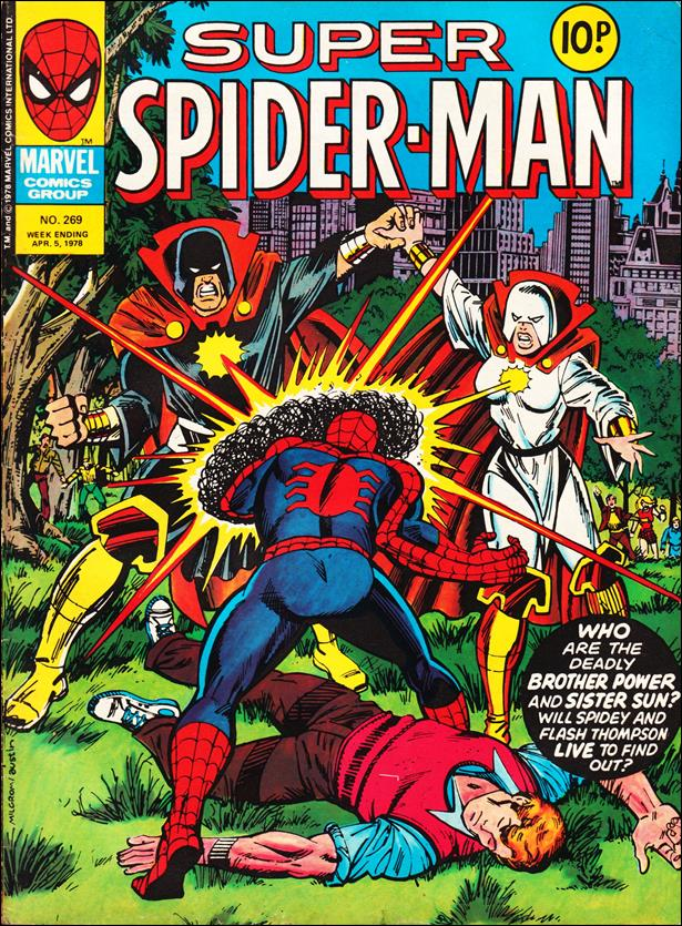 Spider-Man: Comics Weekly (UK) 269-A by Marvel UK