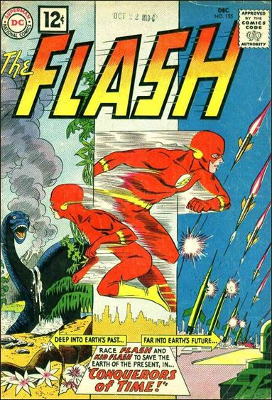 Flash (1959) 125-A by DC