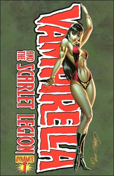 Vampirella and the Scarlet Legion 1-A by Dynamite Entertainment