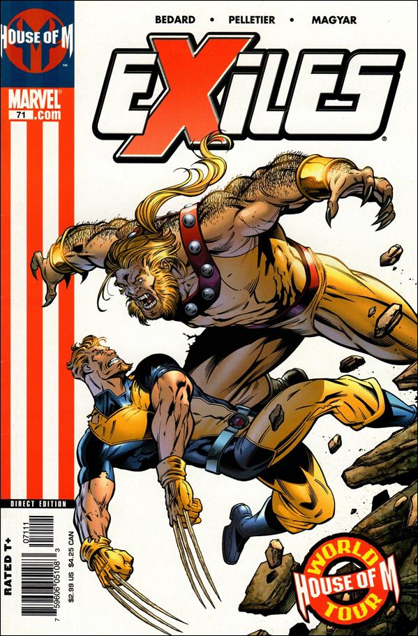 Exiles (2001) 71-A by Marvel