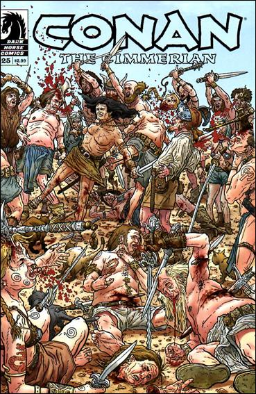 Conan the Cimmerian 25-B by Dark Horse