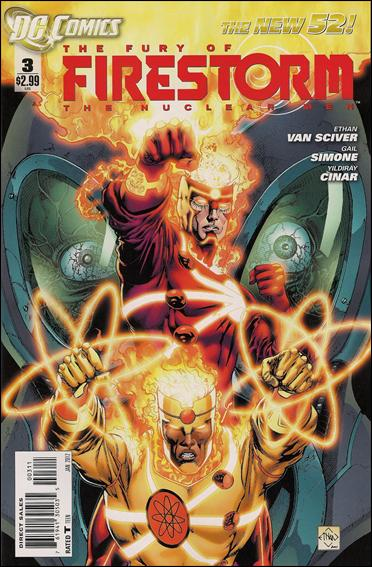 Fury of Firestorm: The Nuclear Men 3-A by DC