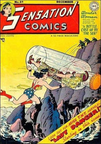 Sensation Comics (1942) 84-A by DC