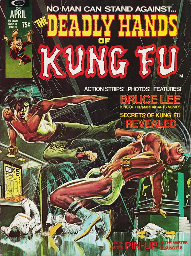 Deadly Hands of Kung Fu 1-A by Marvel