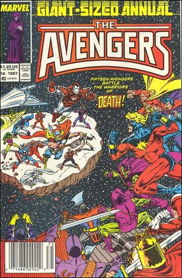 Avengers Annual (1967) 16-A by Marvel
