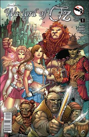 Grimm Fairy Tales Presents Warlord of Oz 1-E