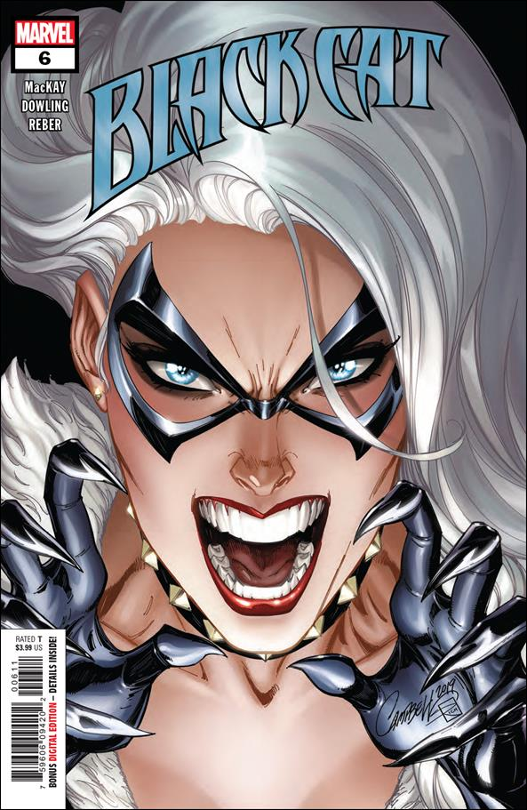 Black Cat 6-A by Marvel