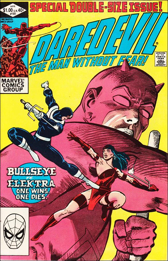 Daredevil (1964) 181-A by Marvel