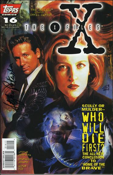 X-Files (1995) 16-B by Topps