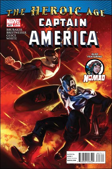 Captain America (1968) 607-A by Marvel