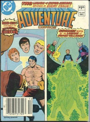 Adventure Comics (1938) 494-A by DC