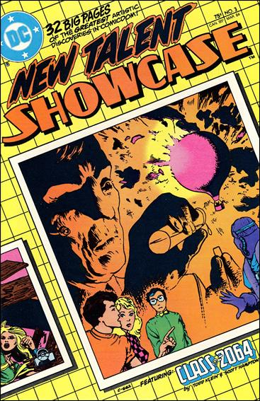New Talent Showcase (1984) 3-A by DC