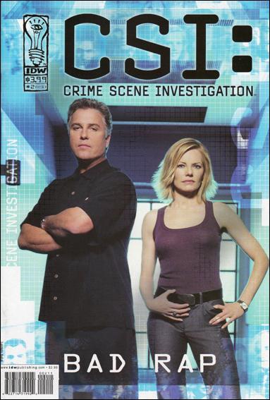 CSI: Crime Scene Investigation-Bad Rap 2-A by IDW