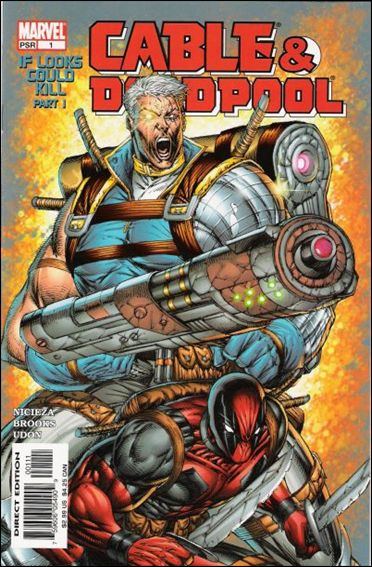 Cable & Deadpool 1-A by Marvel