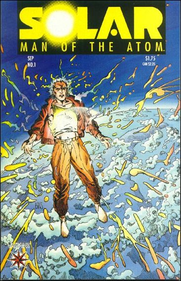 Solar, Man of the Atom (1991) 1-A by Valiant
